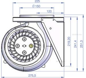 Мотор ILVE A/407/04
