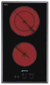 Стеклокерамическая варочная панель. SMEG SE2321TE2