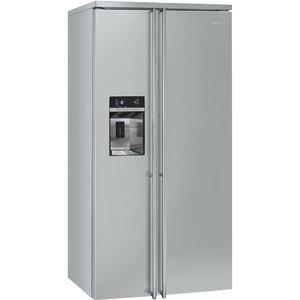 Холодильник Side-by-Side, нержавеющая сталь, SMEG FA63X
