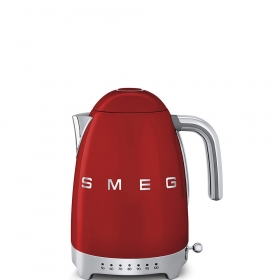 Чайник электрический с регулируемой температурой. SMEG KLF04RDEU