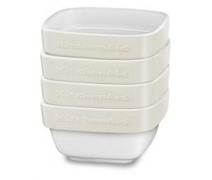 Набор керамических чаш KitchenAid. KBLR04RMAC