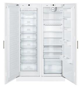 Встраиваемый холодильник Liebherr SBS 70I2 Side-by-Side NoFrost