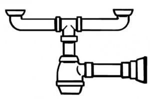 Сифон Smeg 3713