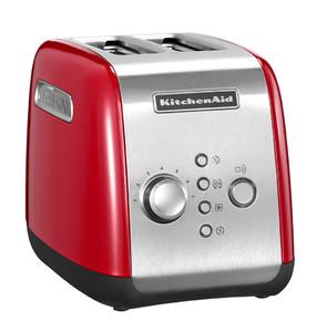 Тостер на 2 хлебца, красный, 5KMT221EER, KitchenAid