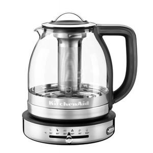 Чайник электрический для кипячения и заваривания, 1,5 л., стеклянный, 5KEK1322ESS KitchenAid