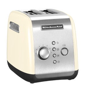 Тостер на 2 хлебца, кремовый, 5KMT221EAC, KitchenAid