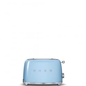 Тостер на 2 ломтика. SMEG TSF01PBEU