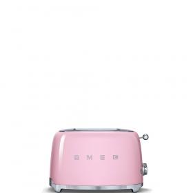 Тостер на 2 ломтика. SMEG TSF01PKEU