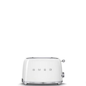 Тостер на 2 ломтика. SMEG TSF01WHEU