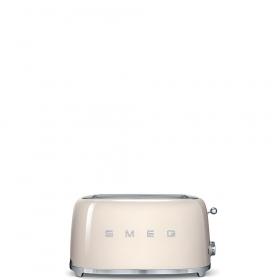 Тостер на 4 ломтика. SMEG TSF02CREU