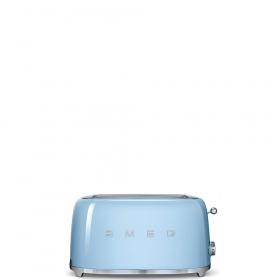 Тостер на 4 ломтика. SMEG TSF02PBEU