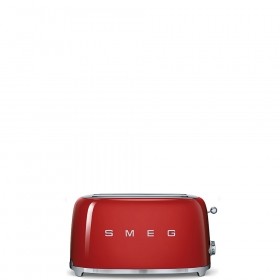 Тостер на 4 ломтика. SMEG TSF02RDEU