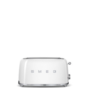 Тостер на 4 ломтика. SMEG TSF02WHEU